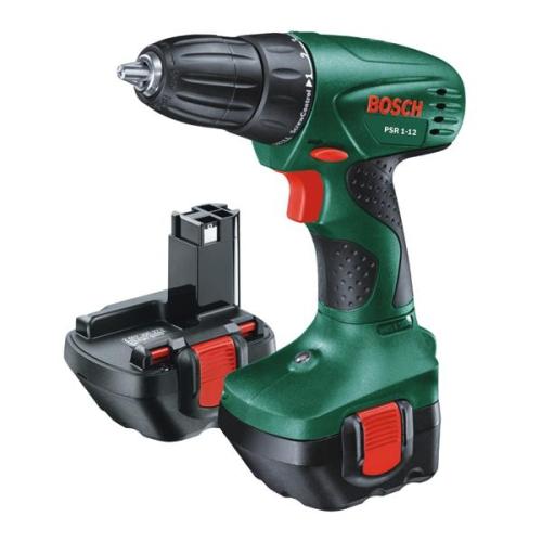 Bosch PSR 1-12, 2 aku