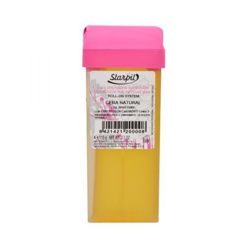 Tělový epilační vosk 110 g - odstín Mrkvový - pro opálenou pleť
