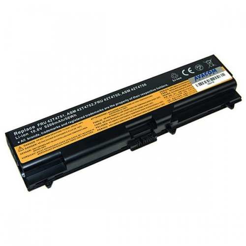 Avacom pro Lenovo ThinkPad T410/SL510/Edge14' Li-ion 11,1V 5200mAh černý