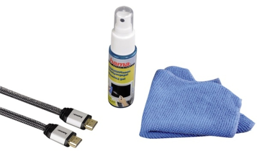 Hama HDMI 1.4, 1,5m + čisticí gel a utěrka