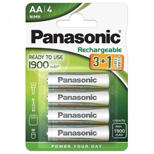 Panasonic Evolta AA, HR6, 1900mAh, blistr ks