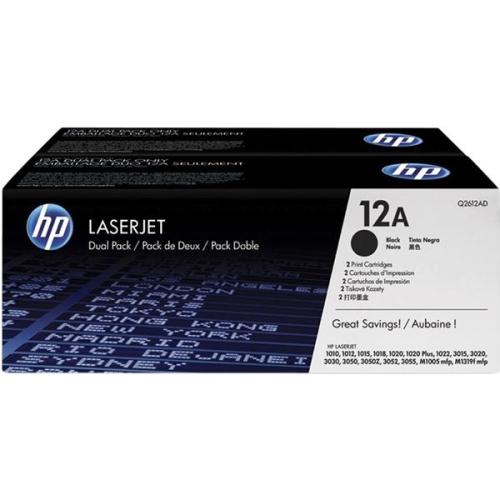 HP Q2612AD, 2K stran - originální černý