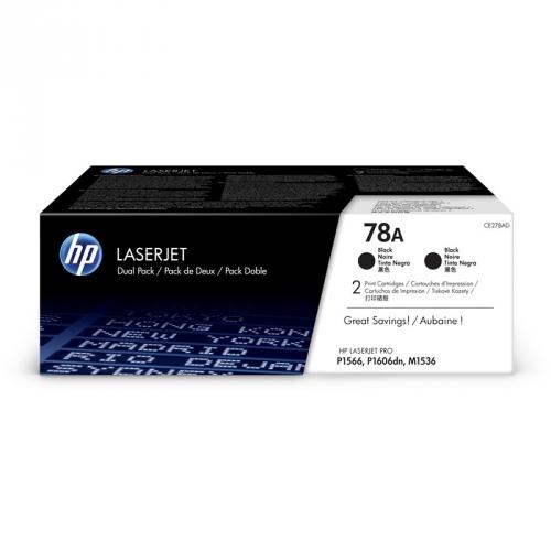 HP CE278AD, 2,1K stran - originální černý