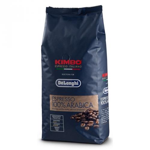 Káva zrnková DeLonghi Kimbo Arabica 250g
