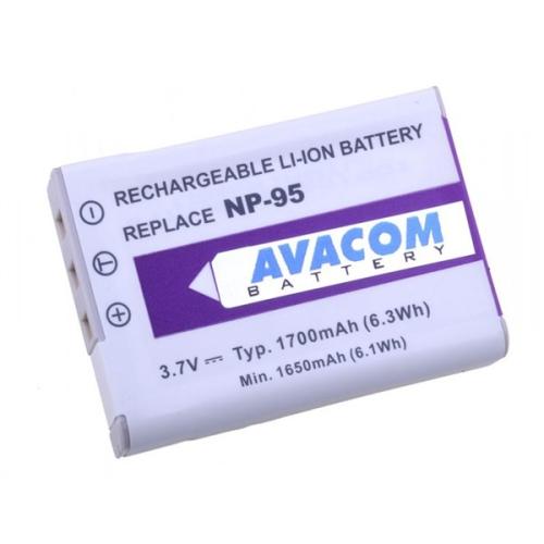 Avacom pro Fujifilm NP-95, Ricoh DB-90 Li-Ion 3.7V 1700mAh
