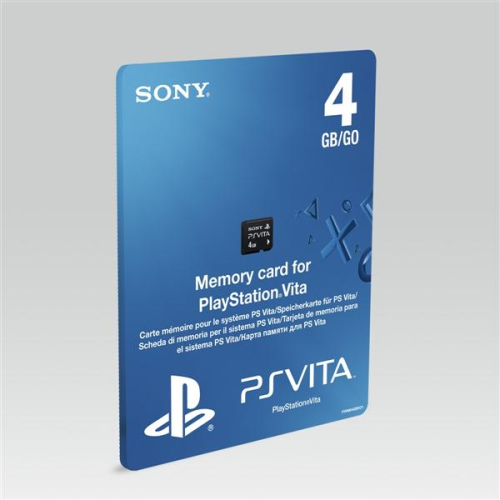 Sony 4GB pro PS VITA