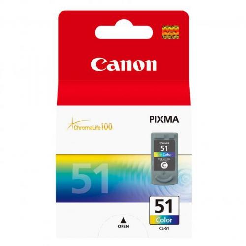 Canon CL-51C, 330 stran - originální červená/modrá/zelená
