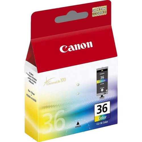 Canon Selphy CLI-36C - originální červená/modrá/žlutá