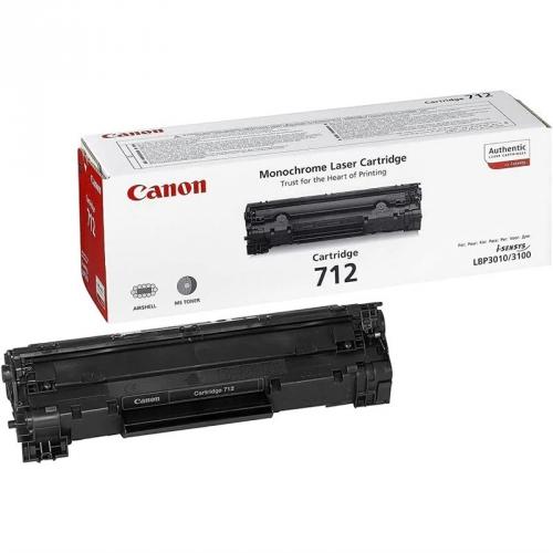 Canon CRG-712, 1,5K stran - originální černý