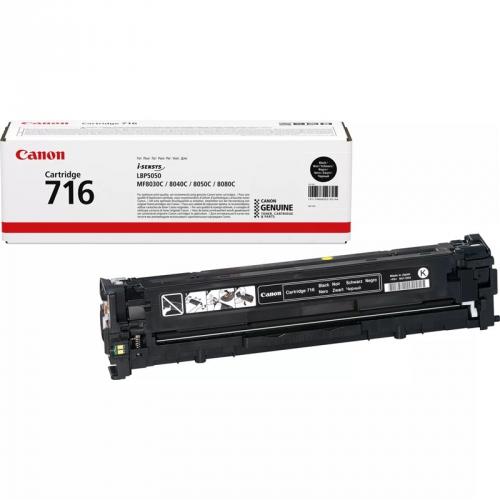 Canon CRG-716Bk, 2,2K stran - originální černý