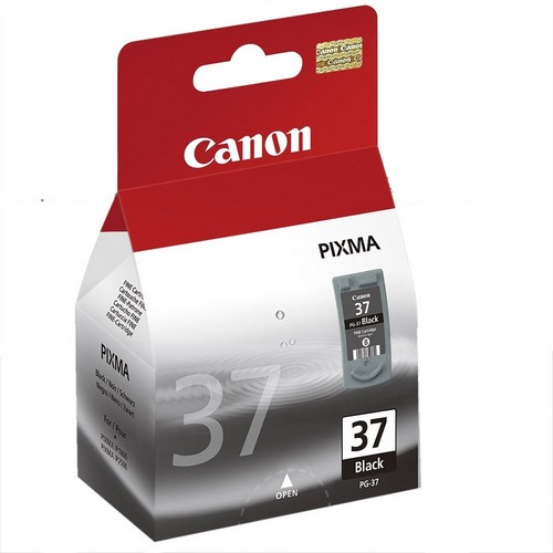 Canon PG-37Bk, 11ml - originální černá