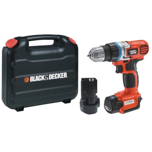 Black-Decker EGBL108KB, 2 aku