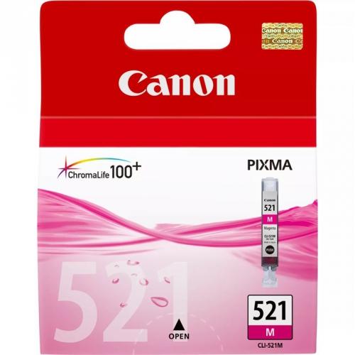 Canon CLI-521M, 510 stran - originální růžová