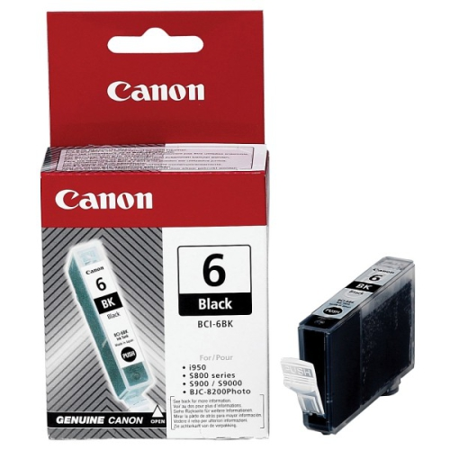 Canon BCI-6Bk, 210 stran - originální černá