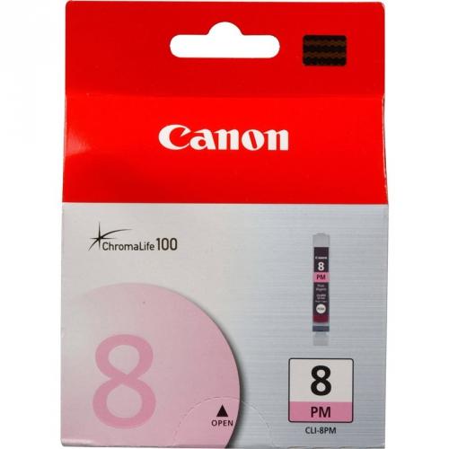 Canon CLI-8PM, 450 stran - originální červená