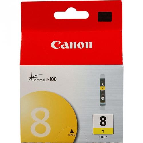 Canon CLI-8Y, 420 stran - originální žlutá