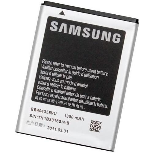 Samsung pro Galaxy Ace, Li-Ion 1350 mAh (EB494358VU)