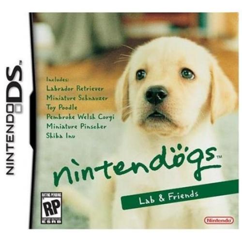 Nintendo Nintendogs Labrador & Friends
