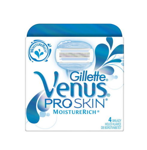 Náhradné hlavice Gillette Venus Proskin 4ks Moisture
