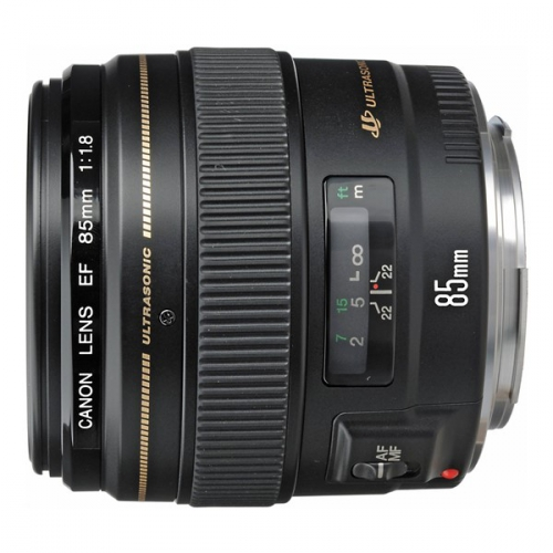 Canon EF 85mm f/1.8 USM černý
