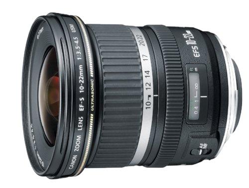 Canon EF-S 10-22mm f/3.5-4.5 USM černý