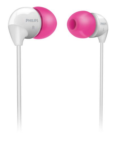 Philips SHE3501PK bílá