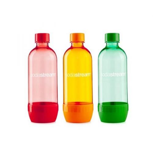 SodaStream TriPack ORANGE/RED/BLUE
