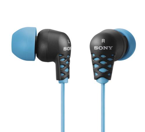 Sony MDR-EX37 modrá