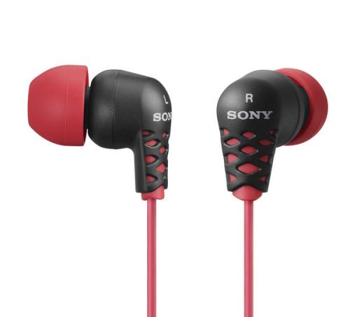 Sony MDR-EX37 červená