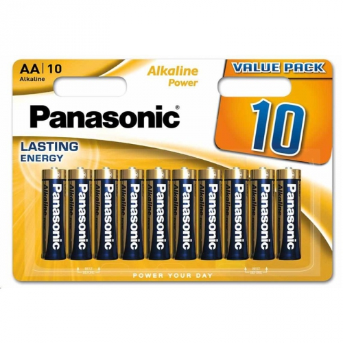 Fotografie PANASONIC Alkalické baterie - Alkaline Power AA 1,5V balení - 10ks