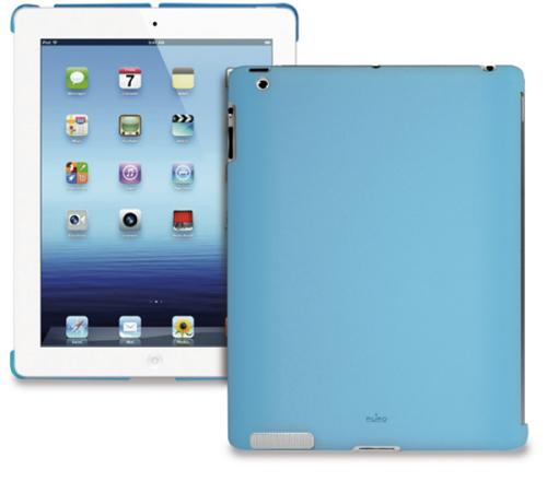"""Puro Soft pro iPad2/iPad3 9,7"""" modrý"""
