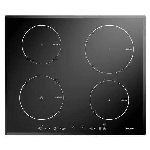 Mora VDI 660 F černá/sklo