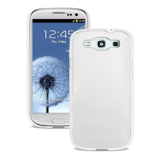 Puro METAL pro Samsung Galaxy S3 + folie bílý