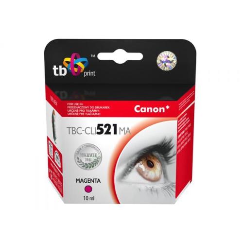 TB Canon CLI-521M - kompatibilní červená