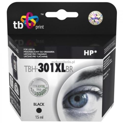 TB HP CH563EE (No.301XL) refil - kompatibilní černá
