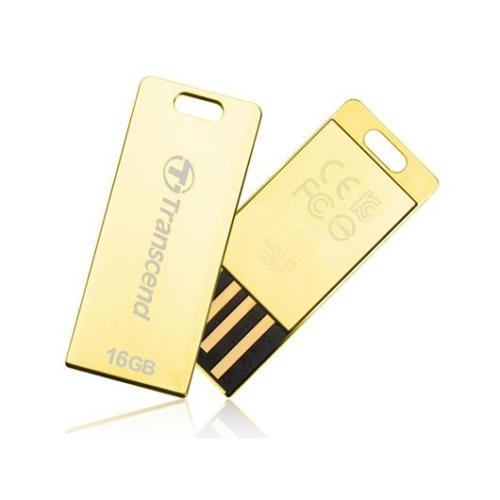 Transcend JetFlash T3G 16GB zlatý