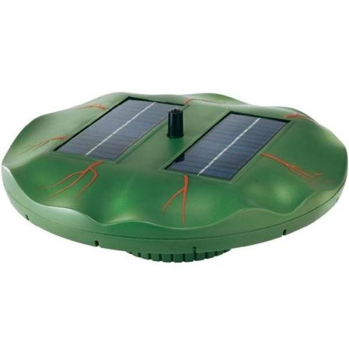 Plovoucí solární ostrůvek s vodotryskem Esotec