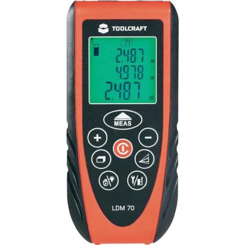 Měřič vzdálenosti Toolcraft LDM 70