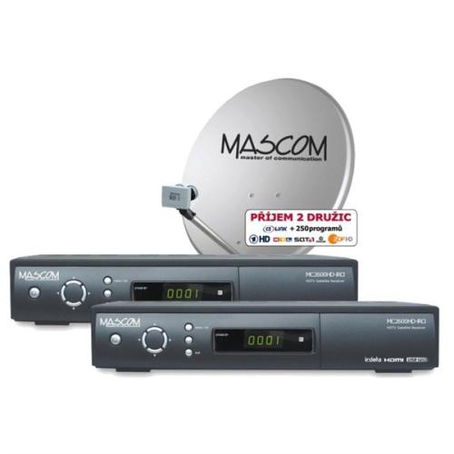 Mascom MC2600HD/80MBL TWIN černý