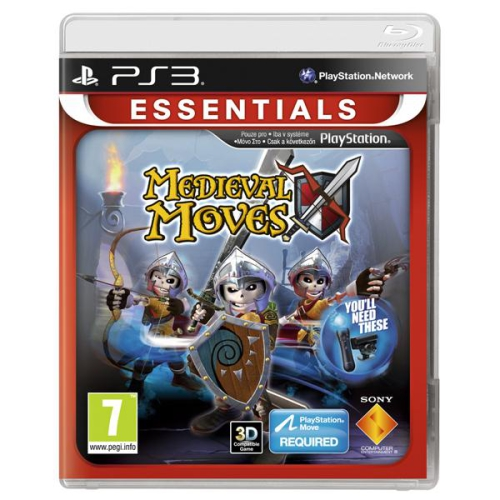 Sony PlayStation 3 MOVE Medieval Moves (Essentials)