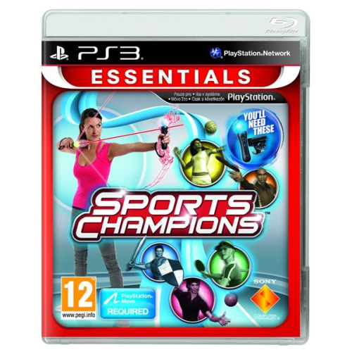 Sony PlayStation 3 MOVE Sports Champions (Essentials)