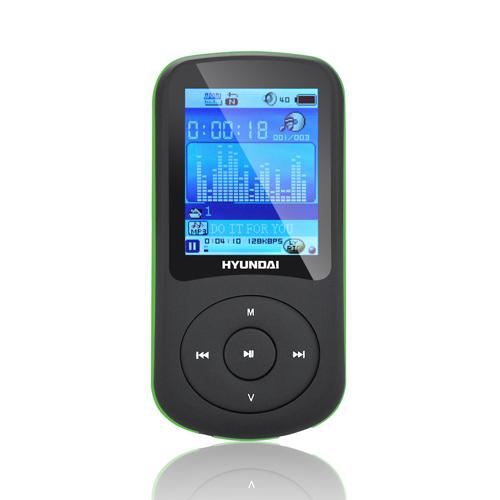 Hyundai MPC 401 FM, 2GB černý/zelený