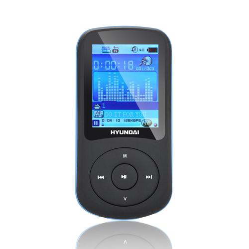 Hyundai MPC 401 FM, 4GB černý/modrý
