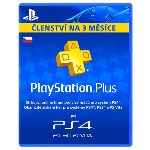 Sony Playstation Plus Card 90 dnů