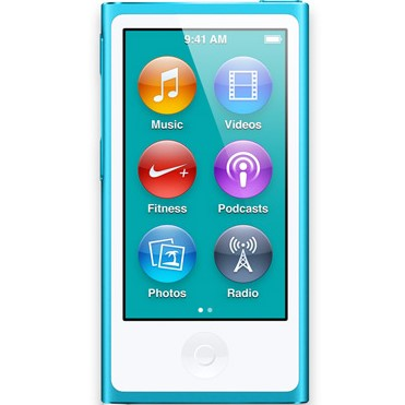 Apple iPod nano 16GB modrý