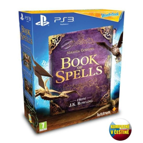 Sony PlayStation 3 Book of Spells + Wonderbook
