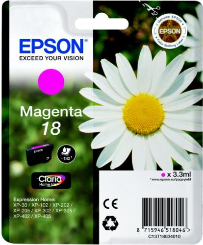 Epson T1803, 180 stran - originální červená