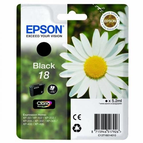 Epson T1801, 175 stran - originální černá
