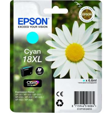 Epson T1812 XL, 450 stran - originální modrá
