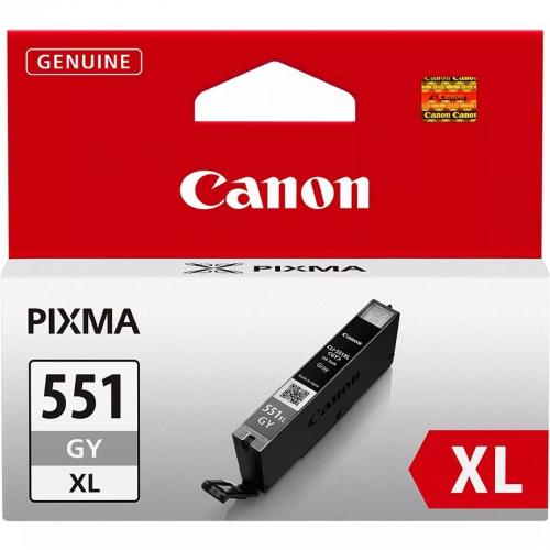 Canon CLI-551XL GY, 3350 stran - originální šedá